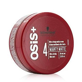Schwarzkopf Osis+ Mighty Matte Ultra Strong Matte Cream (ultra Strong) - 85ml/2.8oz