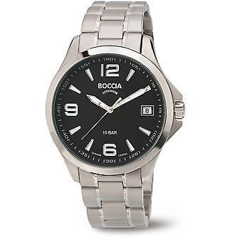 Boccia Titanium 3591-02 Miesten Watch