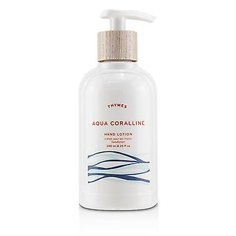 Thymes Aqua Coralline Hand Lotion 240ml/8.25oz