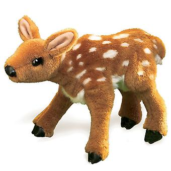 Hand Puppet - Folkmanis - Fawn New Animals Soft Doll Plush Toys 2573