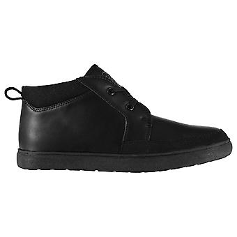 Giorgio Kids Mid High Smart Formal Casual Boots Lace Up Ankle Shoes
