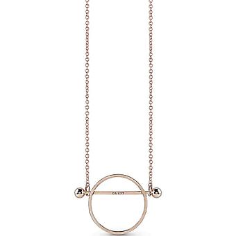 Guess Woman Stainless Steel Pendant Necklace UBN85036