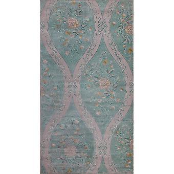 Pierre Cardin Design matto akryyli vihreä/vaaleanpunainen