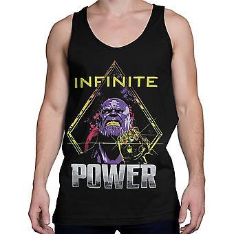 Avengers infinity War Thanos Power up miesten ' s Tank Top