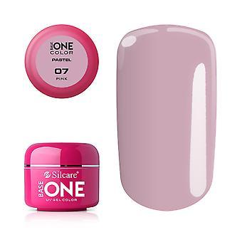 Base en-pastell-rosa 5G UV gel