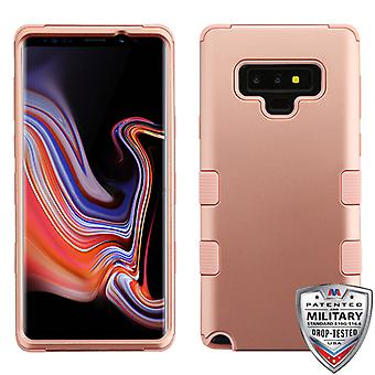 MYBAT Rose Gold/Rose Gold TUFF Hybrid Protector cover voor Galaxy Note 9