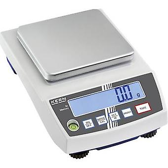 Kern Precision scales Weight range 2 kg Readability 0.1 g mains-powered, battery-powered, rechargeable Silver