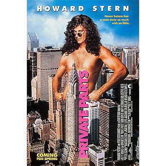 Private Parts (Style B) (Double Sided) (1997) Original Cinema Poster