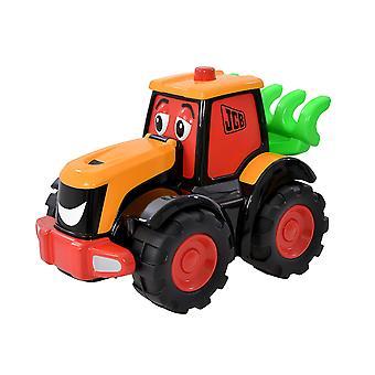 Minun ensimmäinen JCB Big Wheeler Freddie FASTRAC traktori lelu