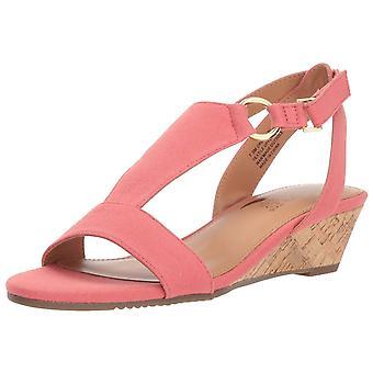 Aerosoles Women's Creme Brulee Wedge Sandal,