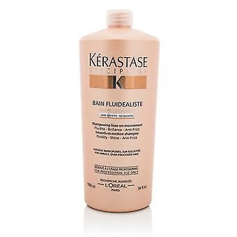 Kerastase Discipline Bain Fluidealiste Smooth-in-motion Sulfate Free Shampoo - For Unruly Over-processed Hair - 1000ml/34oz