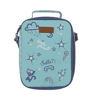 Animal Rosy Lunch Bag in Lagoon Green