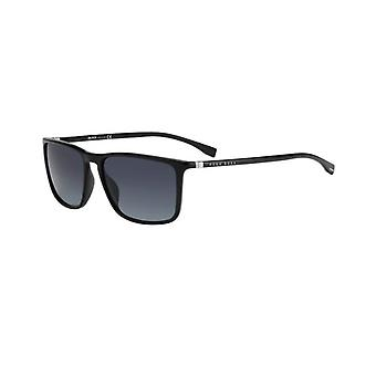 Hugo Boss 0665/N/S 807/9O Shiny Black/Grey Gradient Sunglasses