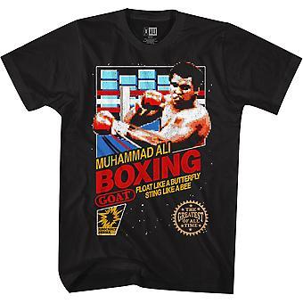 American Classics Muhammad Ali Boxen T-Shirt - Schwarz
