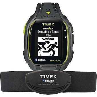Montre Timex TW5K88000F7 - IRONMAN Alarme/Chronographe/Compte � Rebours/Dateur Bracelet Silicone Gris Boitier R�sine Gris Homme