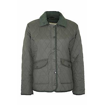 Dames Champion Country Estate manteau matelassé zippé & cloutés Jacket