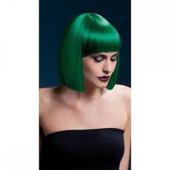 Smiffy's Fiebre Lola Wig - Verde