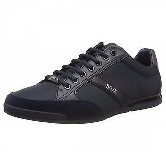 Boss Green Hugo Boss Saturn_Lowp_mx Dark Blue Trainers 50407672