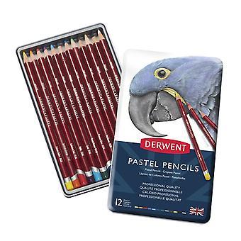 Derwent Pastel Pencils 12 Tin