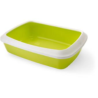 Savic Isis Bowl 50 Green with Frame (Cats , Grooming & Wellbeing , Litter Trays)