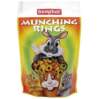Beaphar Munching Rings Snacks for Rodents (Small pets , Treats)