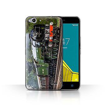 STUFF4 Case/Cover for Vodafone Smart Ultra 6/Tornado/Green/Steam Locomotive