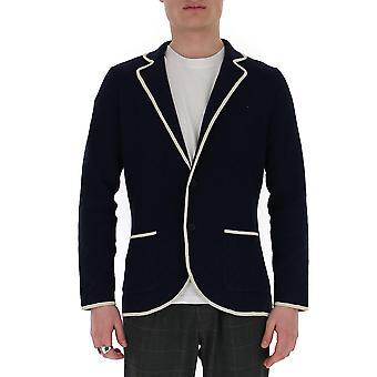 Lardini Eiljm67ei54036840bc Men's Blue Cotton Blazer