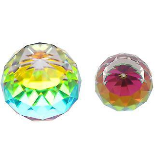 Etwas anderes facettierten Regenbogenball