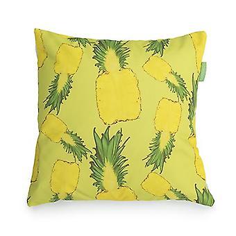 Gardenista Decorative Garden Cushion Cover 45x45 cm | Waterdichte buitenkussenhoezen | Zacht water - Resistente stof voor duurzaamheid | Ananas Ontwerp voor Tuinen