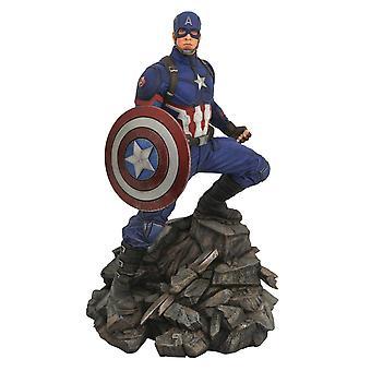 Marvel Premiere Captain America Standbeeld - Avengers Endgame