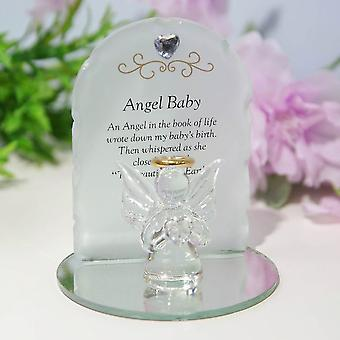 Widdop & Co. Thoughts Of You Angel Plaque - Baby