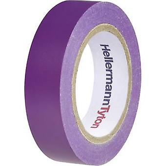 HellermannTyton HelaTape Flex 15 710-00109 Elektrische tape HelaTape Flex 15 Violet (L x B) 10 m x 15 mm 1 st(en)