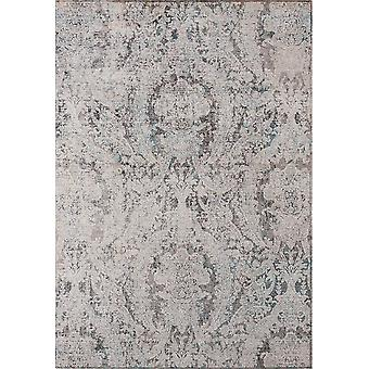 """47"""" x 63"""" Turquoise Polyester Accent Rug"""