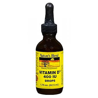 Nature's blend vitamin d3, 400 iu, drops, 1.75 oz
