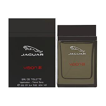 Jaguar visão iii para homens 3.4 oz eau de spray de toilette