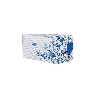 House of Cake House Of Cake China Blue Cake Slice Box - 10 Pack