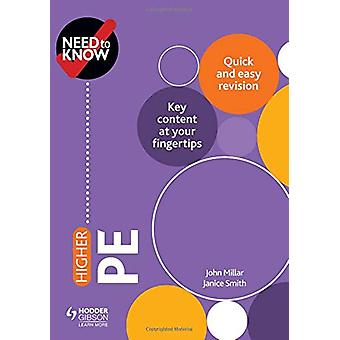 Need to Know - Higher PE by John Millar - 9781510451186 Book