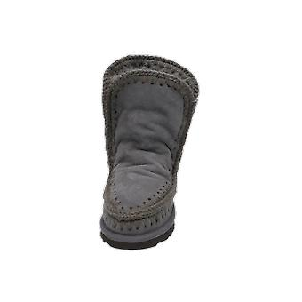 Mou ESKIMO Kids Girls Boots Grey Lace-Up Boots Winter