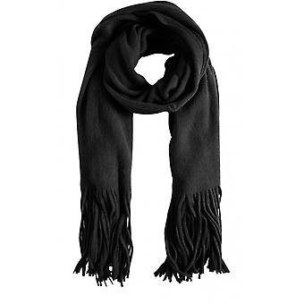 b.young Black Knit Scarf