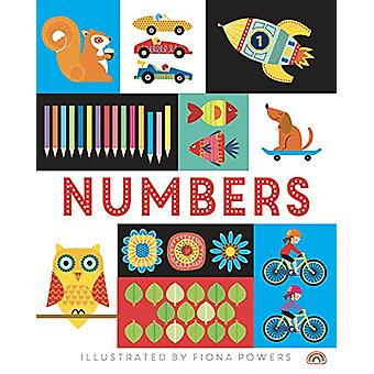 Lift the Flap - Numbers by Fiona Powers - 9781784681494 Book
