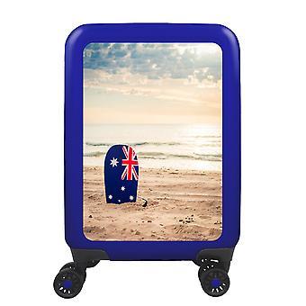 myTrolley Australian Beach S, 4 rolls, 55 cm, 32 L, Blue