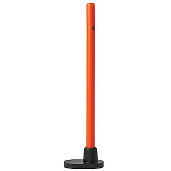 Gunn & Moore Multi Surface Cricket Training Single Stump Orange