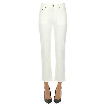 Département Cinq Ezgl534001 Femmes's Beige Cotton Jeans