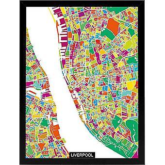 Pintura da moldura 8 quadro preto cor, impressão multicolorida em MDF, vidro, papel, papelão 32x3,6x42 cm