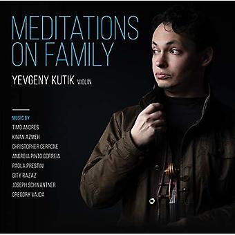 Meditations On Family [CD] USA import