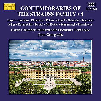 Contemporaries Of Strauss 4 [CD] USA import