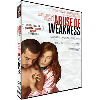 Abuse of Weakness [DVD] USA import
