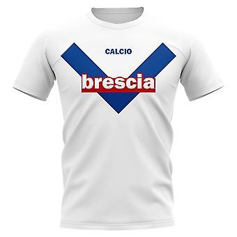 T-Shirt Brescia Vintage Football (Bianco)