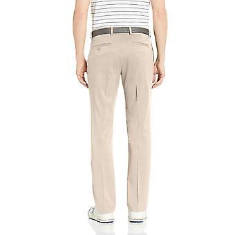Essentials Men's Slim-Fit Stretch Golf Pant, Stone, 35W x 34L