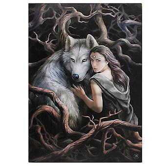 Anne Stokes 50x70cm Soul Bond Canvas